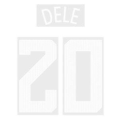 Dele 20 (Official Tottenham Hotspur FC 2017/18 Away Cup Name and Numbering)