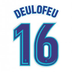 Deulofeu 16 (Official FC Barcelona 2017/18 Away Name and Numbering - Player Version)