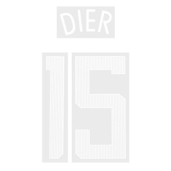 Dier 15 (Official Tottenham Hotspur FC 2017/18 Away Cup Name and Numbering)