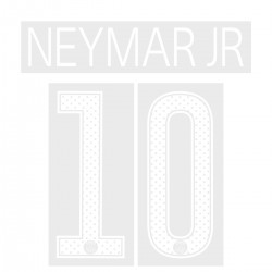 Neymar Jr 10 (Official PSG 2017/18 Home UEFA CL Name and Numbering)