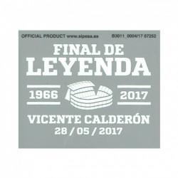 Final De Leyenda Match Details Printing
