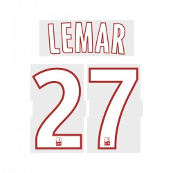 Lemar 27 (Official ASM 2017/18 Away Ligue 1 Name and Numbering)