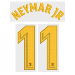 Neymar Jr 11 (Official FC Barcelona 2017/18 Home Name and Numbering - Player Version)