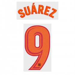 Suárez 9 (Official FC Barcelona 2017/18 Third Name and Numbering - Player Version)