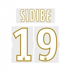 Sidibe 19 (Official ASM 2017/18 Home Ligue 1 Name and Numbering)