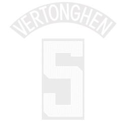 Vartonghen 5 (Official Tottenham Hotspur FC 2017/18 Away Cup Name and Numbering)