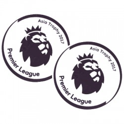 Authentic Sporting ID The Premier League Asia Trophy Patch 2017 - Player Size