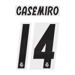 Casemiro 14 (Official Real Madrid FC 18/19 Home Name and Numbering)
