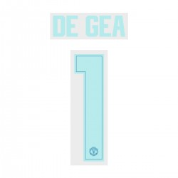 De Gea 1 (Official Manchester United FC 18/19 Away Goalkeepr Name and Numbering - Player Version)