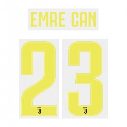 Emre Can 23 (Official Juventus 2018/19 Third Name and Numbering)