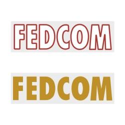 Fedcom Official Front Sponsor Printing for AS Monaco 2018/19/20 Home / Away Shirt