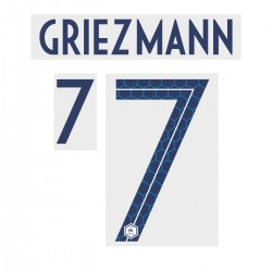 Official Name and Number for France 2 Stars Away Shirt ***(More Players Available)