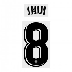 Inui 8 (Official Real Betis 2018/19 Home Name and Numbering)