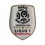 Official France Ligue 1 Conforama Champions 2018 Sleeve Patch