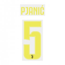 Pjanić 5 (Official Juventus 2018/19 Third Name and Numbering)
