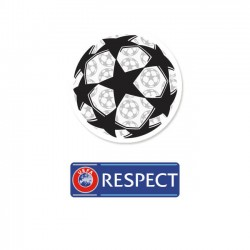 Official Sporting iD UEFA Starball & Respect Badges (Season 2013/14 - Present)