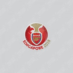 Official Arsenal Singapore Tour ICC 2018 Patch