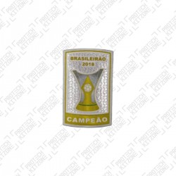 Official Brazil Champeon Badge