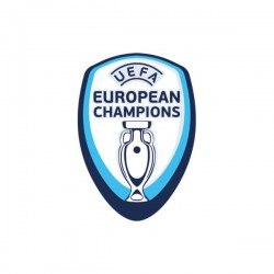 Official UEFA European Champions Badge (for Portugal 2016/18 Shirt)