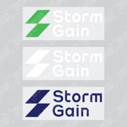 Official Storm Gain Sleeve Sponsor (For Newcastle United 2019/20 Shirt)
