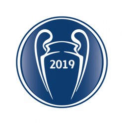 Official Sporting iD UEFA Champions 2019 Badge