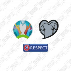 Official UEFA EURO 2020 Qualifier Sleeve Badges Set