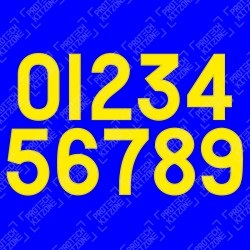 0-9 Numbering (Official Chelsea FC 2019/20 50th Anniversary FA Cup Numbering)