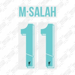 M.Salah 11 (Official Liverpool FC 2019/20 Third Club Name and Numbering)