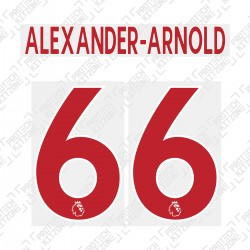 Alexander-Arnold 66 (Official Liverpool FC English Premier League Away Name and Numbering)