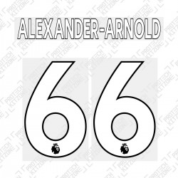 Alexander-Arnold 66 (Official Liverpool FC English Premier League Home Name and Numbering)