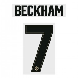 Beckham 7 (Official Manchester United FC 2019/20 Away Name and Numbering - Player Version)