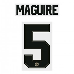 Maguire 5 (Official Manchester United FC 2019/20 Away Name and Numbering - Player Version)