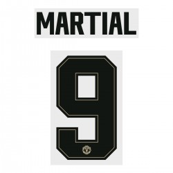 Martial 9 (Official Manchester United FC 2019/20 Away Name and Numbering - Player Version)