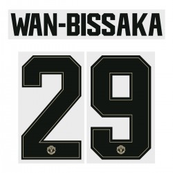 Wan-Bissaka 29 (Official Manchester United FC 2019/20 Away Name and Numbering - Player Version)