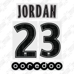 Jordan 23 (Official PSG 19/20 Away Ligue 1 Name and Numbering)