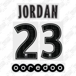 Jordan 23 (Official PSG 19/20 Away Ligue 1 Name and Numbering)