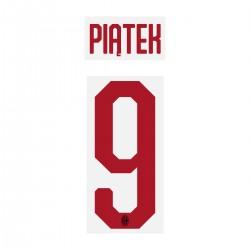 Piatek 9 - Official Name and Number Cup Printing for AC Milan 19/20 Away Shirt