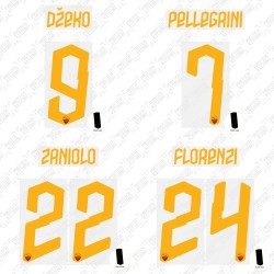 Official Name and Number Cup Printing for AS Roma 19/20 Third Shirt ***(More Players Available)