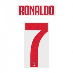Ronaldo 7 - Official Name and Number for Juventus 2019/20 Away Shirt