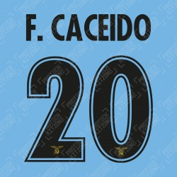 F. Ceceido 20 (Official SS Lazio 19/20 120Y Anniversary & 20/21 UEFA CL Name and Numbering)
