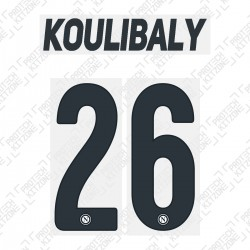 Koulibaly 26 (Official SSC Napoli 2019/20 Third Name and Numbering)