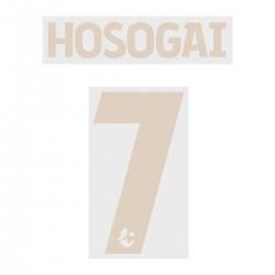 Hosogai 7 (Official Buriram United 2019 Third Name and Numbering)