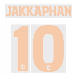 Jakkaphan 10 (Official Buriram United 2019 Home Name and Numbering)