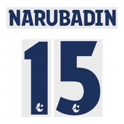 Narubadin 15 (Official Buriram United 2019 Away Name and Numbering)