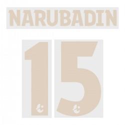 Narubadin 15 (Official Buriram United 2019 Third Name and Numbering)