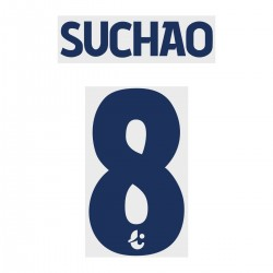 Suchao 8 (Official Buriram United 2019 Away Name and Numbering)