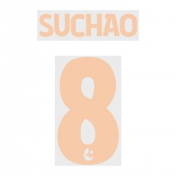 Suchao 8 (Official Buriram United 2019 Home Name and Numbering)