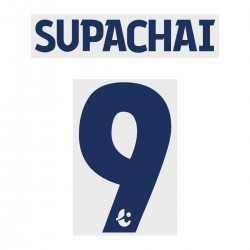 Supachai 9 (Official Buriram United 2019 Away Name and Numbering)