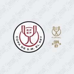 [PRE ORDER] Copa Del Rey 2019/20 Final Patch + Match Day Details