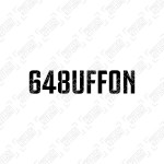 Official 648uffon Tribute Sleeve Badge - Black